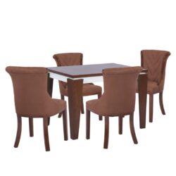 میز و صندلی ناهار خوری  مدل جاسمین کد 28