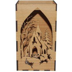 جا شمعی  گالری چوب و کمان  مدل  زمستان 1