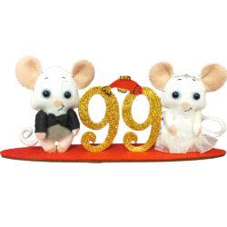 استند هفت سین مدل موش عروس و داماد
