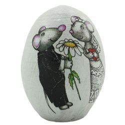 تخم مرغ تزئینی طرح موش مدل SJ5