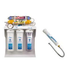 دستگاه تصفیه کننده آب اس اس وی مدل UltraPro X800 به همراه فیلتر دوش حمام