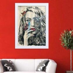 تابلو   گالری استاربوی طرح اشک مدل هنری HL331