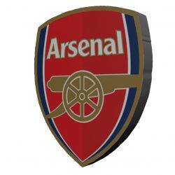 استیکر  چوبی آرسنال بانیبو مدل Arsenal
