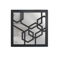 آینه  دکوراتیو رومادون طرح شش ضلعی کد 1220