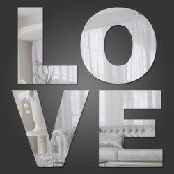 آینه  رومادون طرح Love کد 507
