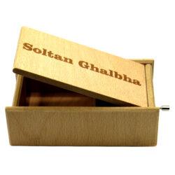 جعبه موزیکال  ایل تمپو فلیچیتا مدل   SOLTAN GHALBHA کد 1100