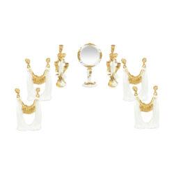 مجموعه ظروف  9 پارچه هفت سین طرح فرشتهمدل W101