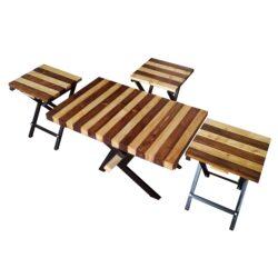 میز پذیرایی مدل A254-05 مجموعه 4 عددی