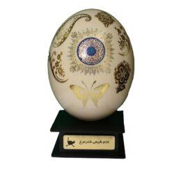 تخم شترمرغ تزئینی طرح الله مدل A1