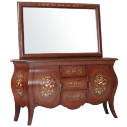 آینه و کنسول مدل خمره ای کد ۱۳۷